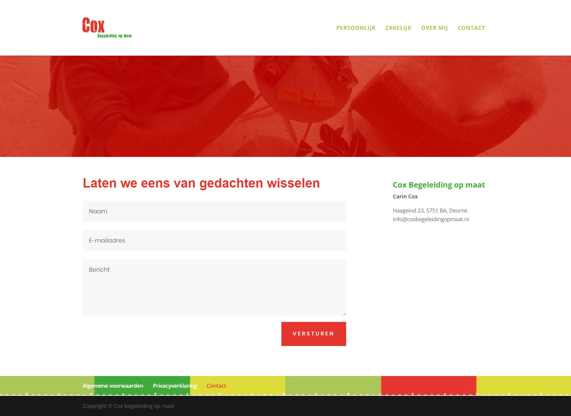 website design cox 4